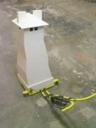 chris-poulton-towerwood-metalcable143x32x122cm2008