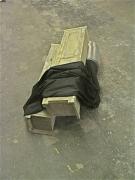 chris-poultonbeyond-the-shadow-of-doubtwoodmetaldrapery68x68x178cm2008