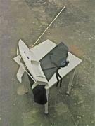 chris-poultonthe-threecardwoodrubber88x67x69cm2008