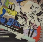 chris-poulton-the-blue-fish-acrylic-on-canvas-40x40cm-6