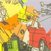 chris-poulton-the-getaway-acrylic-on-canvas-50x50cm-2007