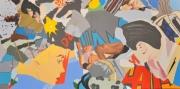 east-west-acrylic-on-canvas-140cm-x-70cm